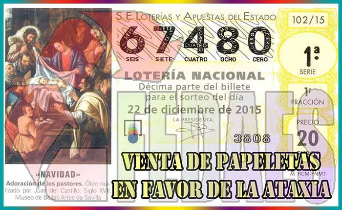 Lotería FEDAES 2015
