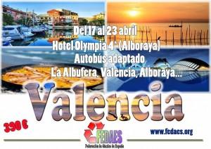 Vacaciones Valencia ataxia