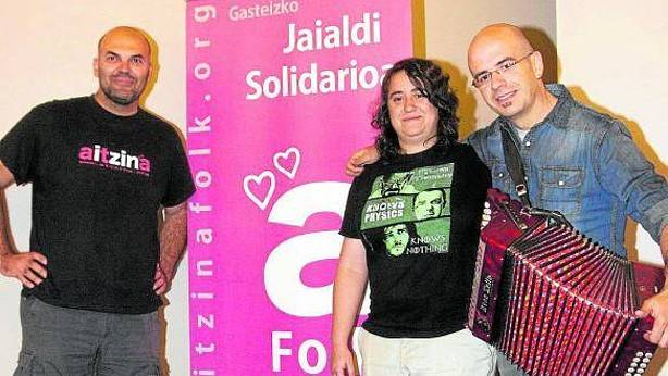 El festival solidario 'Aitzina Folk' recauda 15.000 euros para la investigación de la Ataxia Telangiectasia