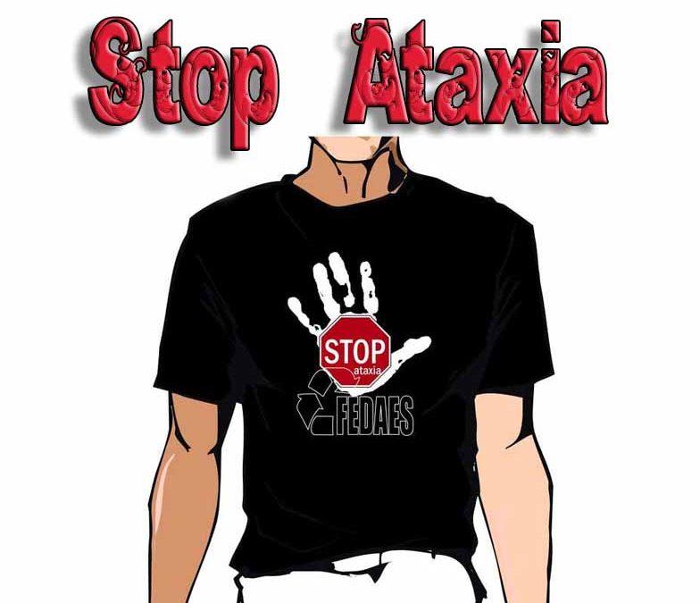 ¡Stop Ataxia! Camisetas solidarias