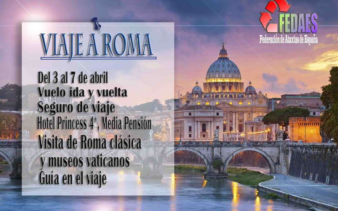 ¿Nos vamos a Roma?