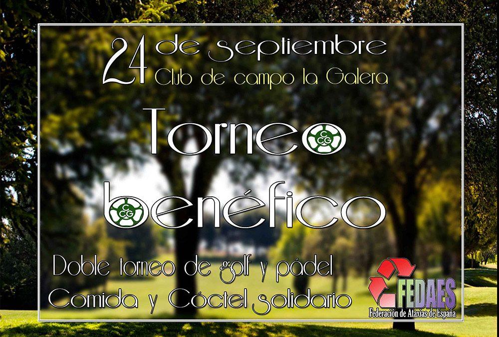 Torneo benéfico de golf y pádel y comida solidaria / Club de Campo la Galera