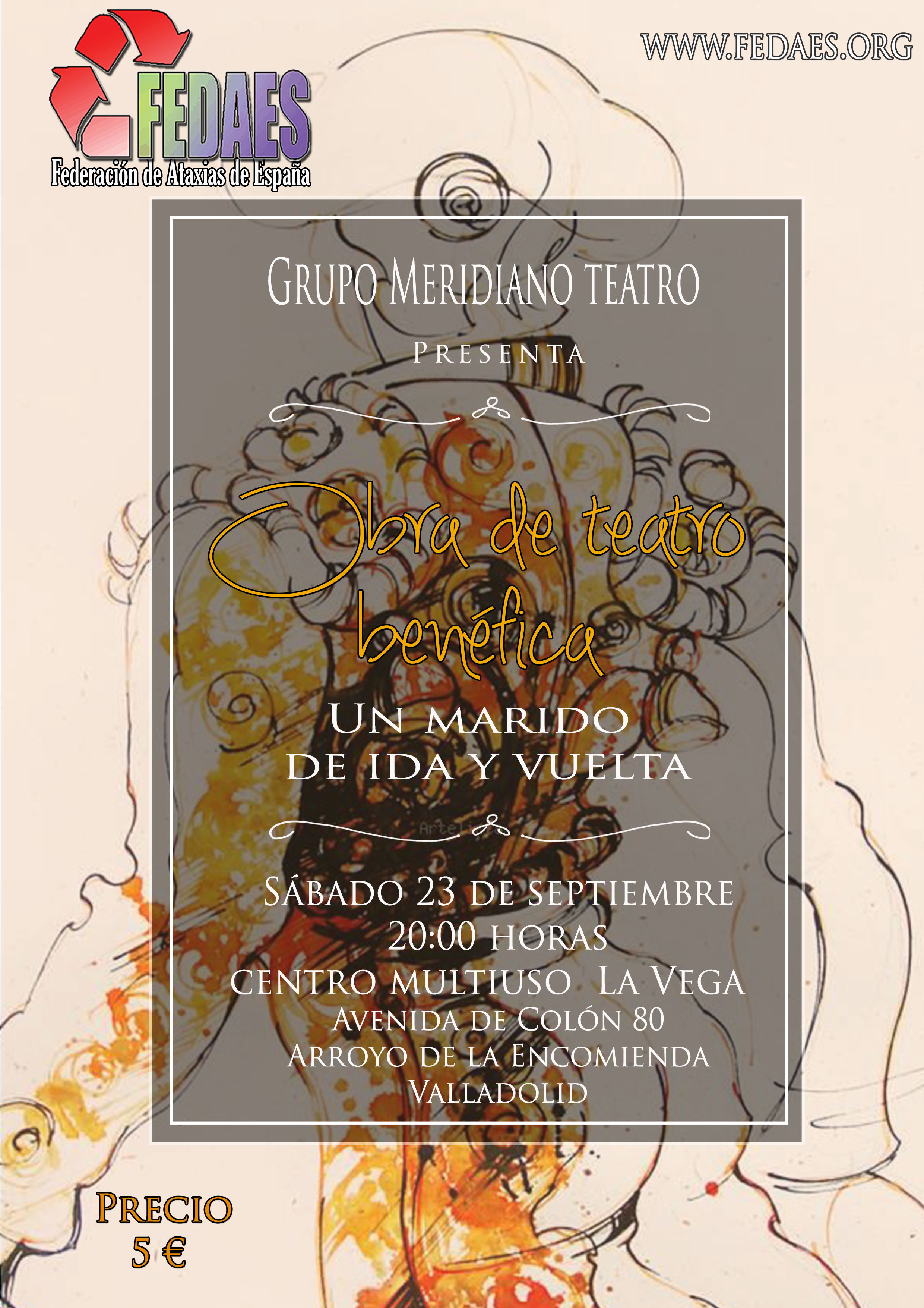 Obra de teatro y concierto benéfico