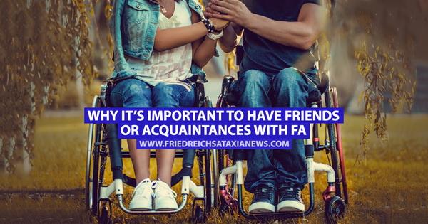 Por qué es importante tener amigos o conocidos con FA