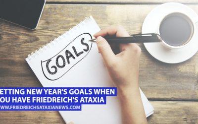 Estableciendo las metas de Año Nuevo cuando tienes Ataxia de Friedreich