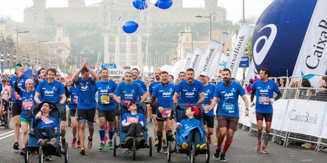 Seis niños y jóvenes con ataxia telangiectasia participarán en un reto solidarioen la maratón de Vitoria-Gasteiz el 6 de mayo