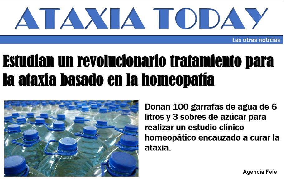 Ataxia today: Las otras noticias
