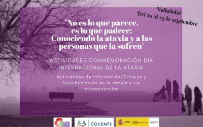 Protegido: Conmemoración día internacional de la Ataxia 2018