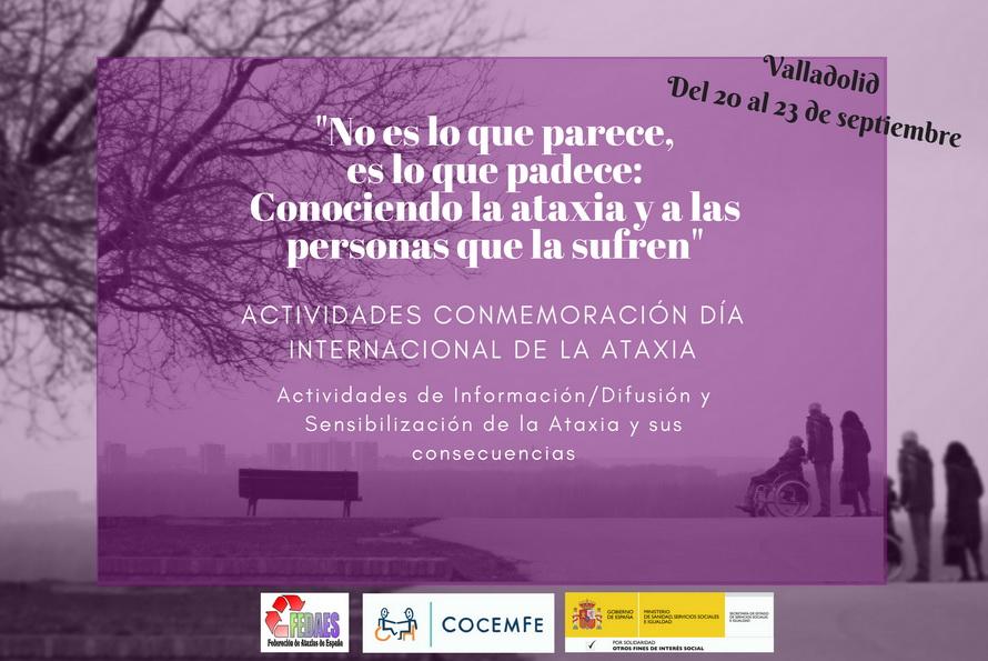 Conmemoración día internacional de la Ataxia 2018