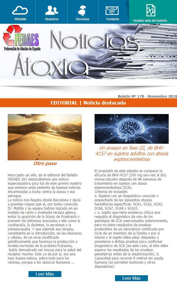 Boletín Ataxia Nº 170