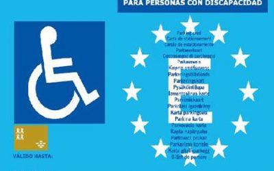 ¿Cómo solicitar la tarjeta de aparcamiento para movilidad reducida?¡TE AYUDAMOS!