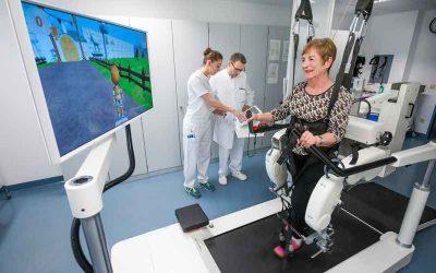 El papel del entrenamiento robótico de la marcha y tDCS en la rehabilitación de ataxia de Friedrich