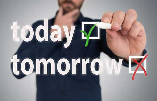 No dejemos para mañana…