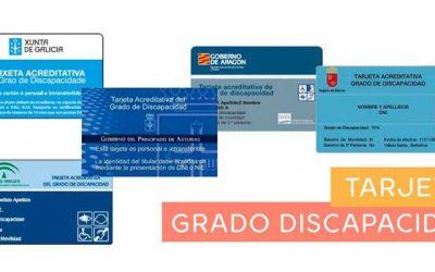 ¿Cómo conseguir la tarjeta acreditativa del grado de discapacidad?
