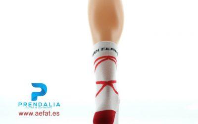 Calcetines solidarios para San Fermín,  a beneficio de la investigación de la ataxia telangiectasia