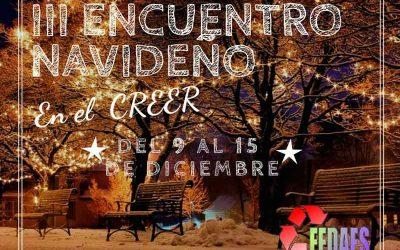 III Encuentro navideño de FEDAES en el CREER