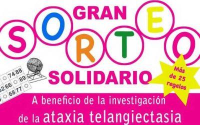 La ataxia telangiectasia se hará visible en Ferrolcon un sorteo benéfico