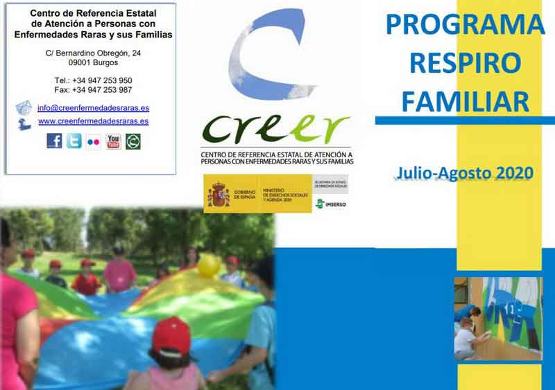 CREER Respiro Familiar 2020