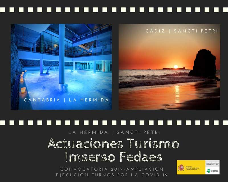 Actuaciones Turismo Imserso Fedaes (Conv. 2019)