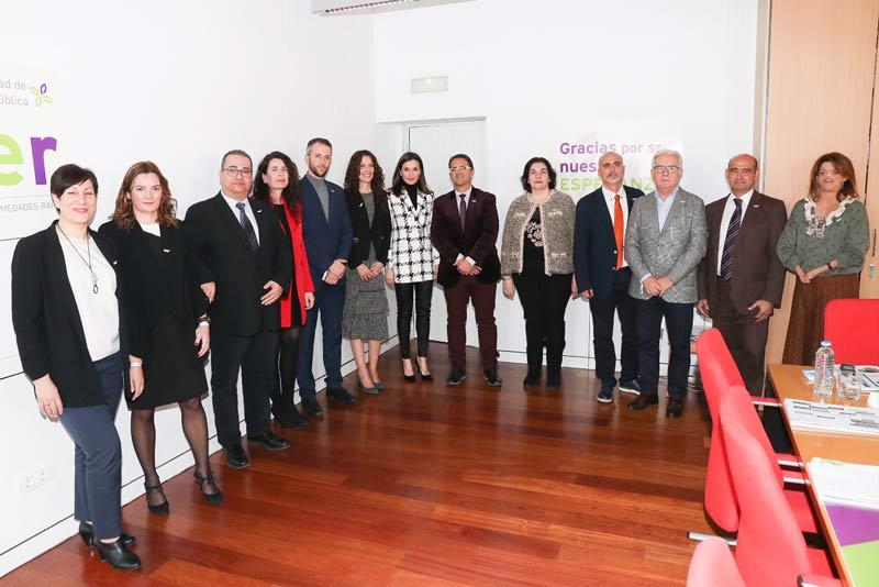 SM la Reina se reúne con FEDER para conocer sus retos y oportunidades en 2020