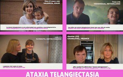 """¡Te retamos a decir """"ataxia telangiectasia""""! // 1ª Campaña de sensibilización internacional"""