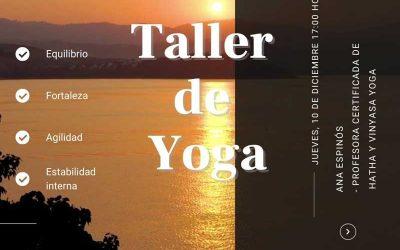 Taller de Yoga y Ataxia