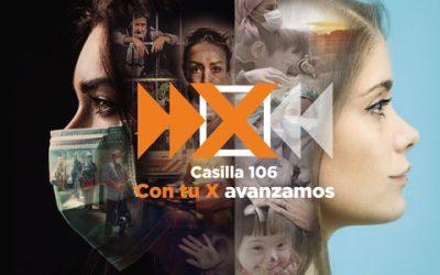 ¡Marca la casilla 106 en tu declaración de la renta, con tu X avanzamos!