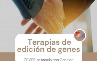 Terapias de edición de genes: CRISPR se asocia con Capsida